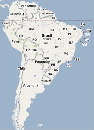 Colombia en Surámerica