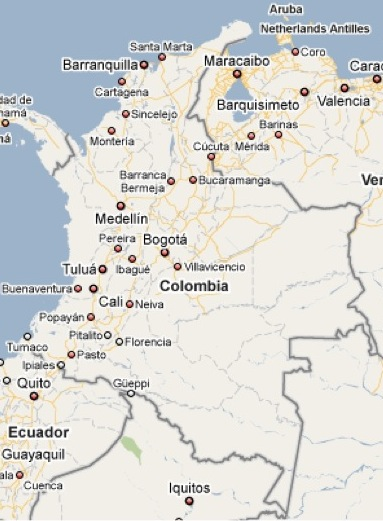 Colombia, http://maps.google.com/