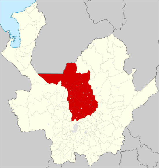 Norte Antioqueño. Fuente: Wikipedia