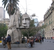 Monumento a los Pueblos Originarios, Plaza de Armas