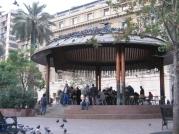 Pérgola, Plaza de Armas
