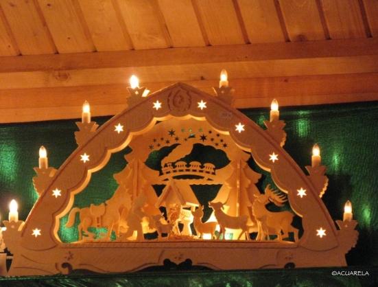 Arco de velas-Schwibbogen