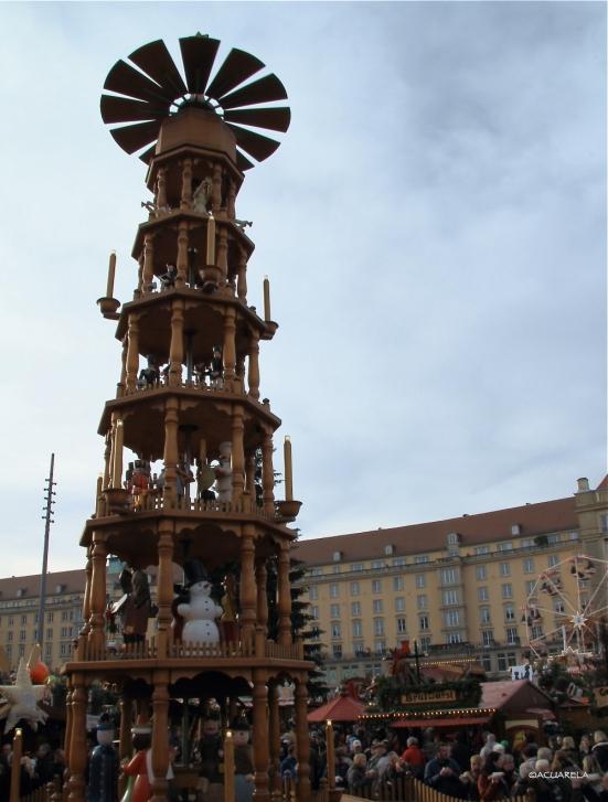 Pirámide navideña, Dresde