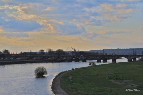 Río Elba, Dresde