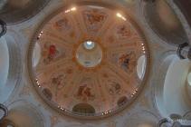 Detalles del interior de la cúpula