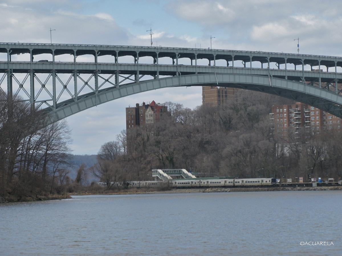 Henry Hudson Bridge sobre el Río Harlem