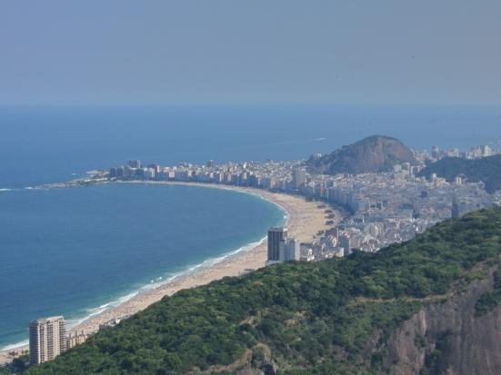 Copacabana desde Pao de açucar