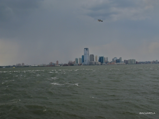 New Jersey desde Governors Island